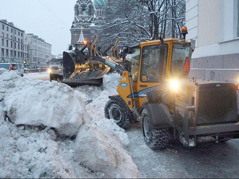Армия снегоуборочных машин